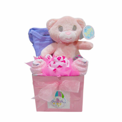 small baby girl hamper