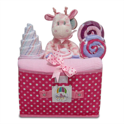 Giraffe Baby Girl Hamper
