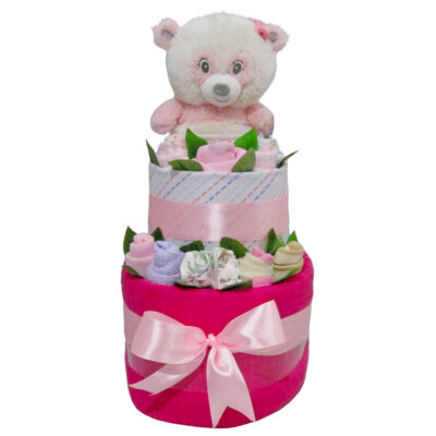 cute baby girl double layer cake